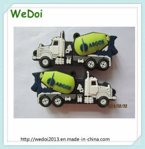 Cartoon Truck PVC USB Pen Drive USB Stick with Low Cost (WY-PV104) pictures & photos