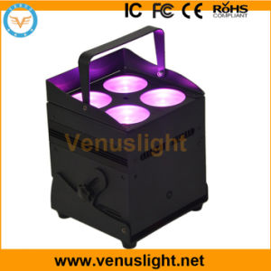 RGBW 4in1 LED Battery Stage Light with IR Control and DMX Wireless