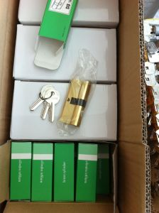 High Quality Brass/Zinc Normal Key Lock Cylinder (C3370-111AC-251AC) pictures & photos