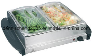 Large 2-Station Buffet Server and Warming Tray