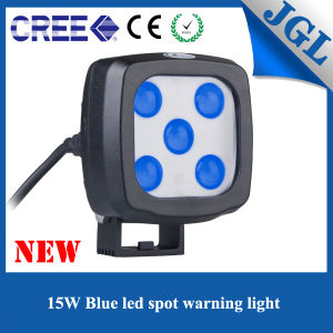 New Designed 4D Forklift LED Work Light with Blue Spot-Beam