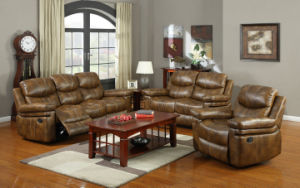 Leather Recliner Sofa (FS-8118) pictures & photos