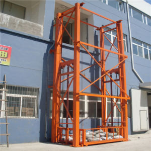 Sjd Hydraulic Guide Rail Lift Platform pictures & photos
