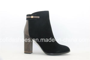 Sexy Hand-Made High Heel Women Shoes/Boots pictures & photos