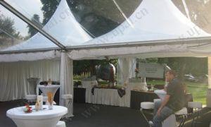 6X6m Outdoor Aluminium Alloy Pagoda Tent pictures & photos
