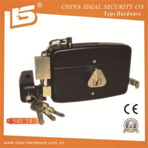 Rim Lock Door Lock Double Bolt (540.14-Z) pictures & photos