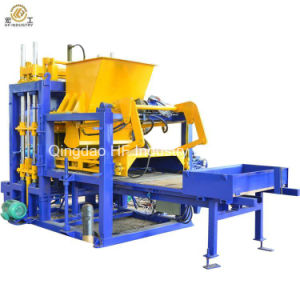 Factory Sale Hydraulic Automatic Concrete Block Making Machine Qt5-15 Hollow Block Molding Price in India pictures & photos