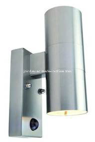 Stainless Steel up & Down Wall Spot Light with PIR Jkstwl35