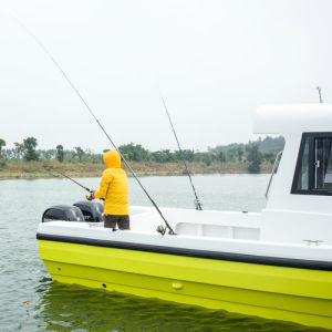 30FT Japanese Style Fiberglass Panga Fishing Boats for Sale pictures & photos