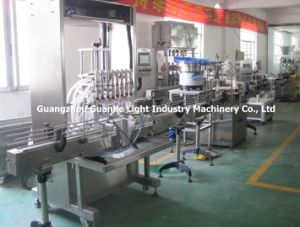 Automatic 6-Nozzle Whiskey/Wine Filling Machine with Overflowing-Type Filling pictures & photos