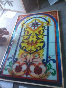 Safe Laminated Church Glass Stained Glass pictures & photos