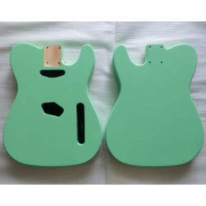 Hot Nitro Finished Alder Tele Guitar Body Surf Green Color pictures & photos