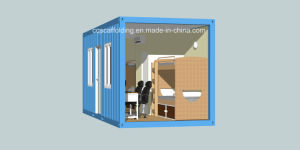 Prefabricated Expandable Container House for Temporary Hotel