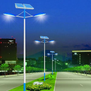 Cheap 90W Super Bright LED Solar Street Light pictures & photos