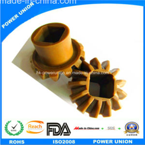 Acetal Resin POM Plastic Injection or Machining Bevel Gear pictures & photos