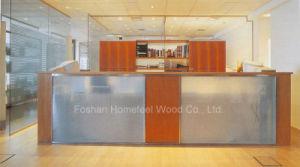 Mirror Salon Glass Reception Desk (LT-E409) pictures & photos