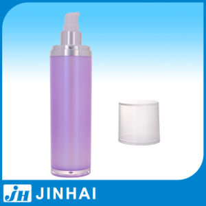 Cylindrical Hot Acrylic Lotion Bottle for Packaging pictures & photos