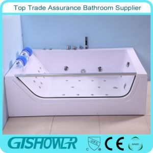 Rectangular Free Standing Acrylic Corner Bathtub (KF-638) pictures & photos