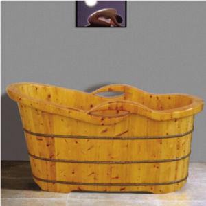 Lignum Cedrium Wooden Bath Tub (NJ-031) pictures & photos