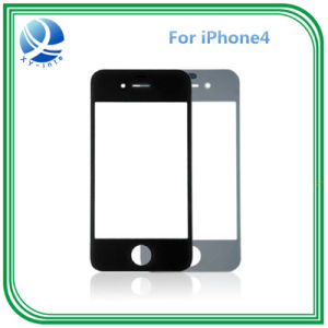 Mobile Phone Front LCD Screen Glass for iPhone 4 pictures & photos