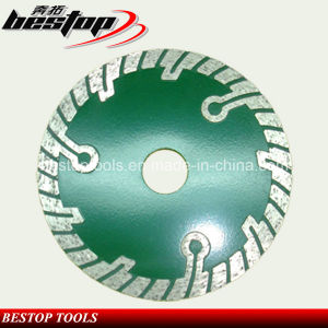 Turbo Segment Flush Diamond Saw Blade with Reinforce Protecting Teeth pictures & photos