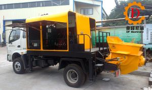 Mobile Hydraulic Truck-Mounted Concrete Pump pictures & photos