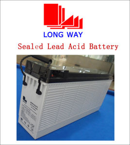 12V100ah Sealed Front Access Solar AGM Battery pictures & photos