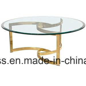 Clear Tempered Glass Kittchen Table Top with Certificate CE, SGCC pictures & photos