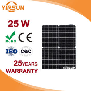 Factory Direct Sale 25W Solar Panel for Solar System pictures & photos