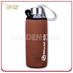Adiabatic Neoprene Glass Bottle Stubby Holder with Tote pictures & photos