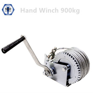 2000lbs 900kg Hand Winch Zinc Plated pictures & photos