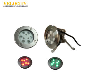 24V 6W/12W IP68 RGB LED Surface Mounted Under Pool& SPA Light pictures & photos