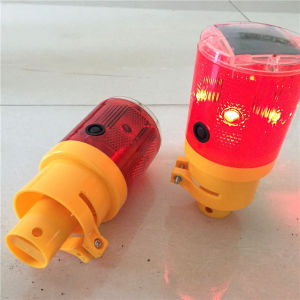 Solar LED Warning Traffic Cone Lamp/Traffic Cone Light pictures & photos
