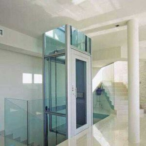 Machine Roomless Home Elevator with Glass Cabin pictures & photos
