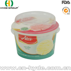 100ml Disposable Ice Cream Paper Cup with Lid with Logo pictures & photos