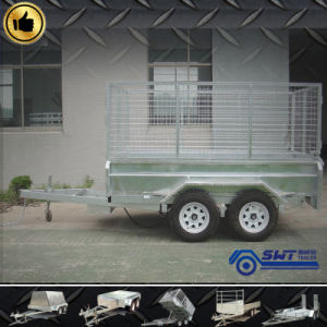 Galvanized Box Trailer Side Tipping pictures & photos