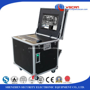 Anti-terrorism Colour linescan Vehicle Inspection Systems for prison, emabssey pictures & photos
