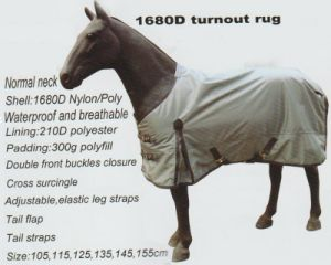 Horse Gear 1680d Turnout Rug