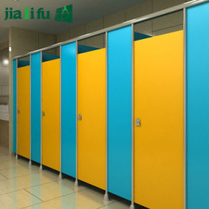 Jialifu Compact Grade Laminate Toilet Partition Dimension pictures & photos