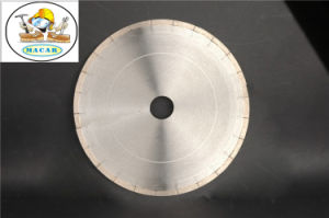 Segmented Diamond Circular Saw Blades for Ceramic/ Crystallized Glass pictures & photos