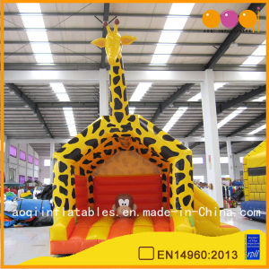 Inflatable Yellow Giraffe Outside Bouncer (AQ674) pictures & photos
