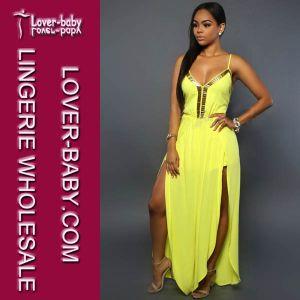 Lady Party Jumpsuit Long Dress Clothes (L55186-2) pictures & photos
