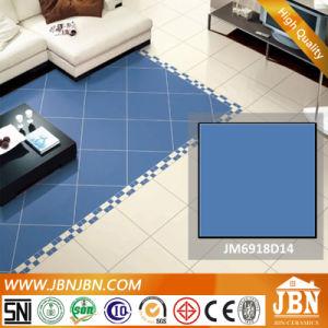 Pure Blue Color Mediterranean Porcelain Flooring Tile (JM6918D14) pictures & photos
