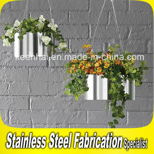 Indoor and Outdoor Stainless Steel Flower Planter Pot pictures & photos