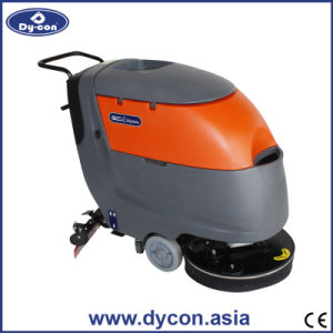 Automatic Hand Drive Large Tank Floor Scrubber for Station pictures & photos