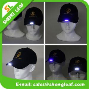 Custom Multi-Function LED Cap Softextile Snapback Blank Flat Brim Caps pictures & photos