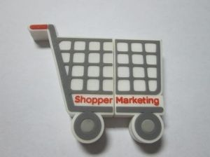 Shopping Cart Shape USB Flash Drive (OM-P319) pictures & photos