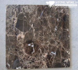 Polished Dark Emperador Marble Tile for Flooring/Wall pictures & photos