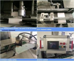 Fully Automatic Carton Box Cartoning Machinery with Ce Standard pictures & photos
