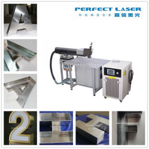 China Easy Operation 220W 300W 3D Letter CNC Laser Welding Machine for Advertisement Industry pictures & photos